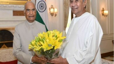 Photo of Odisha CM calls on President Kovind, apprises him about progress of relief works for cyclone victims