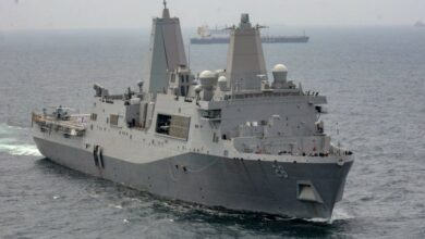Photo of US Navy ship reaches Visakhapatnam for a four-day port visit
