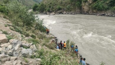 Photo of Nepal: 15 people missing after jeep plunges into Karnali river