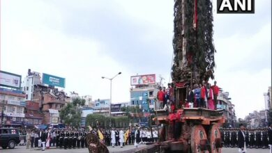 Photo of Nepal: Bhoto Jatra marks end of longest Rato Machindranath Chariot Festival