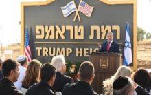 Netanyahu renames Golan heights after Trump