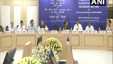 Photo of FM Nirmala Sitharaman holds pre-budget meeting with finance ministers of all states