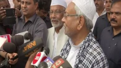 Photo of Those who give unnecessary statements have 'no religion': Nitish Kumar's jibe at Giriraj
