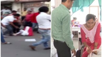 Photo of BJP MLA thrashes NCP woman leader, later says will apologize
