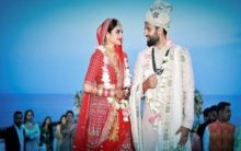 Actress-cum-MP Nusrat Jahan dazzles at her Kolkata reception