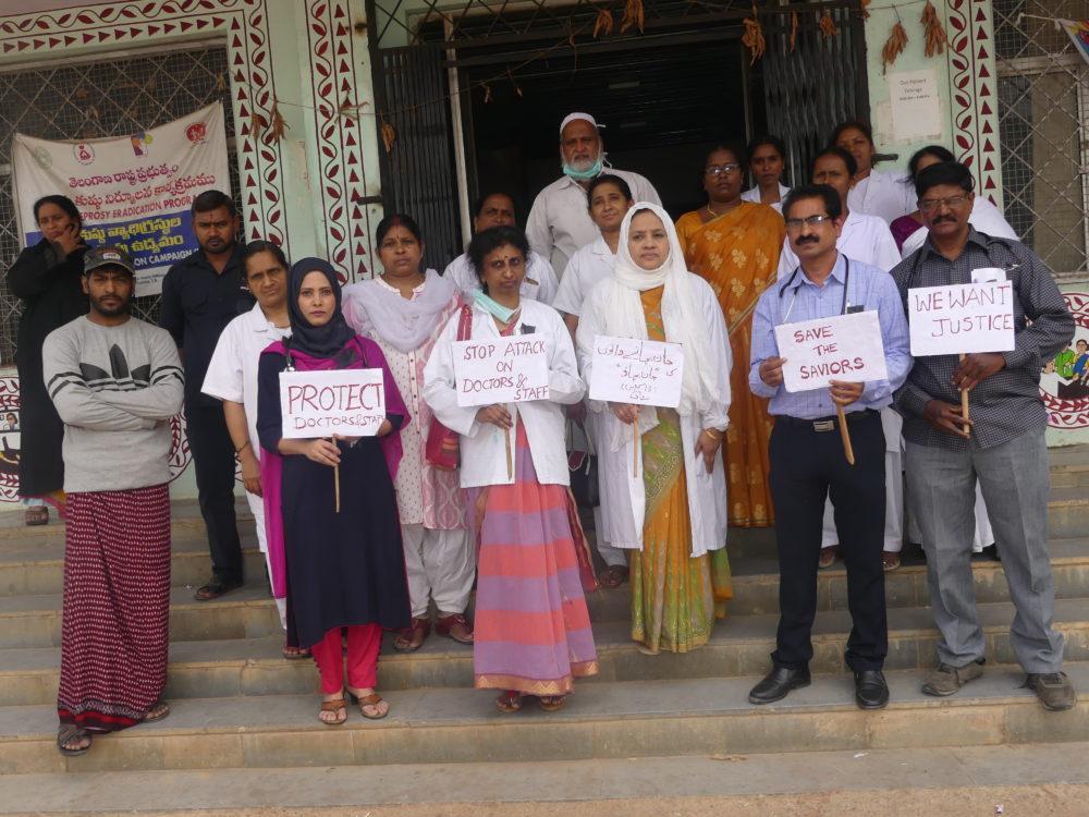 Doctors strike hit services in Telangana