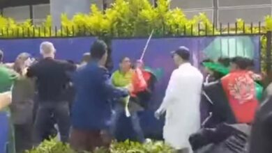 Photo of ICC World Cup: Scuffle break out between fans of Pakistan, Afghanistan outside stadium