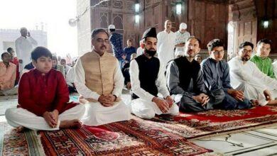 Photo of Pakistan Foreign Secretary offered Eid prayers at Jama Masjid