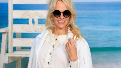 Photo of Pamela Anderson accuses ex boyfriend Adil Rami of cheating on her