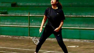 Photo of Parineeti Chopra sweats it out for Saina Nehwal biopic