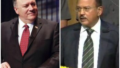 Photo of Pompeo to hold talks with NSA Ajit Doval