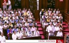 Modi introduces his Council of Ministers in Rajya Sabha