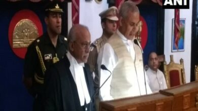 Photo of Justice V Ramasubramanian takes oath as Chief Justice of Himachal Pradesh High Court