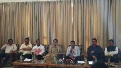 Photo of Assam's Rameshwar Teli addresses press conference in New Delhi