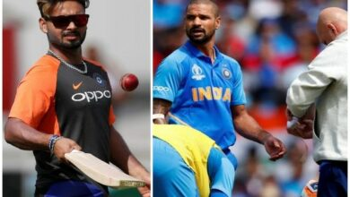 Photo of Rishabh Pant called in to cover for injured Shikhar Dhawan
