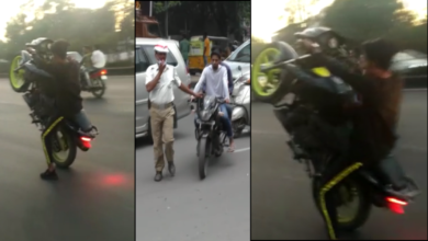 Photo of Stunt riding moves to other avenues in the city,  endangers lives of riders, others