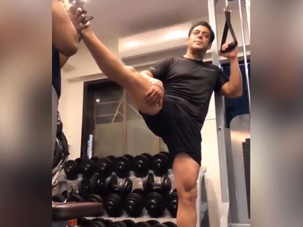 Salman Khan works towards 'being flexible'
