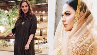 Photo of Sania Mirza, Veena Malik get into nasty Twitter spat after Pak losses match