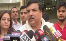 AAP's Sanjay Singh gives zero hour notice in RS over spurt in Delhi crime