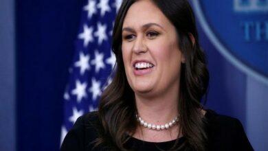 Photo of White House spokeswoman Sarah Sanders to step down
