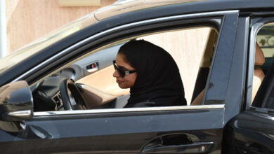 Photo of Behind the wheel, a year on: Saudi women savour new freedom