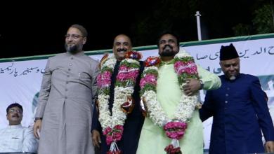 Photo of Aurangabad MP Imtiyaz Jaleel addressed at yakutpura
