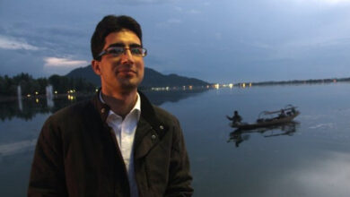 Photo of Shah Faesal, Engineer Rashid announce pre-poll alliance