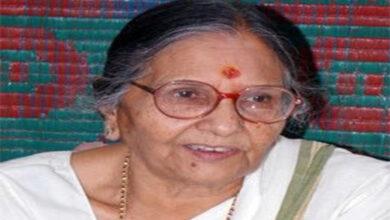 Photo of Sleepwell founder, ex-MP Sheela Gautam dead at 88