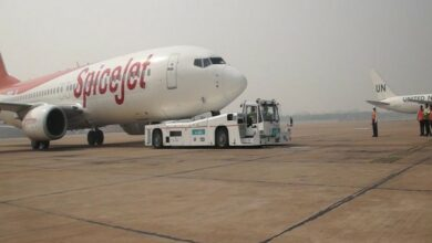 Photo of Despite tyre burst, SpiceJet flight lands safely at Jaipur airport