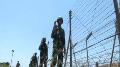 Photo of J-K: BSF jawans secure borders amid heat wave conditions