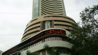 Photo of Sensex down 190 points, Nifty below 11,800