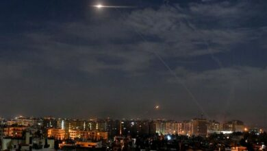 Photo of Israel fires missiles at border town in southern Syria