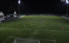 J-K gets first football stadium with floodlights