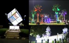 Hyderabad: City illuminated ahead of TS Formation day Celebration