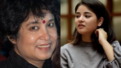 Photo of Taslima Nasreen expresses views after Zaira quits Bollywood over 'damaged peace, imaan'