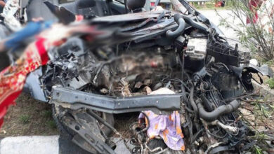 Photo of Telangana: 4 die, 1 critically injured after car rams into lorry