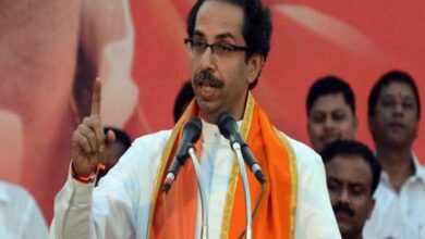 Photo of Uddhav, Sena MPs visit Ram Janmabhoomi temple