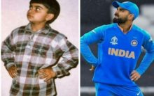 Kohli is maintaining his swag since '90s