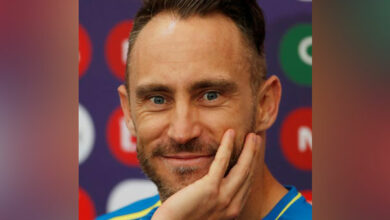 Photo of Very relieved, says Faf du Plessis after first win in WC