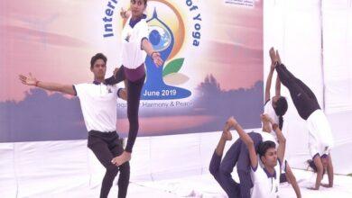 Photo of AAI celebrates 5th International Yoga Day