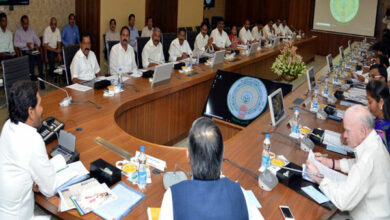 Photo of Andhra Pradesh CM YS Jagan Mohan Reddy holds his first cabinet meeting