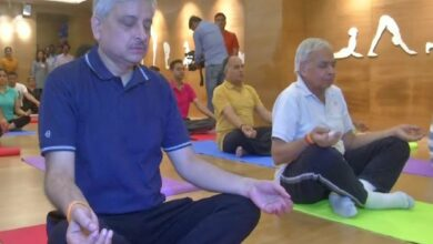 Photo of AIIMS conducts yoga workshop, ahead of World Yoga Day