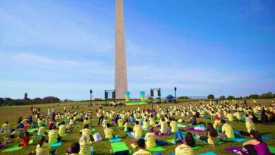 Photo of International Yoga day celebrated in US