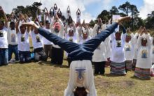 Nepal: Indian Embassy organizes yoga event at Syangboche
