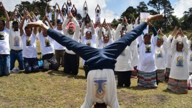 Photo of Nepal: Indian Embassy organizes yoga event at Syangboche