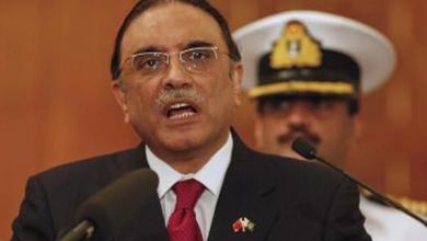 Photo of Former Pakistani President Asif Ali Zardari arrested