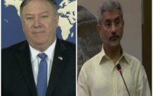 State Secy Pompeo called EAM S. Jaishankar, reiterates commitment to advance US-India strategic partnership