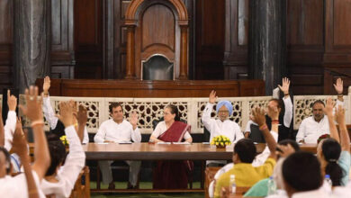 Photo of Sonia Gandhi to continue as CPP Chairperson for fourth consecutive term