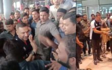 Akbaruddin Owaisi returned home after a tough period of illness