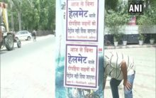 Aligarh: Petrol pumps stop giving fuel to two-wheeler riders without helmet